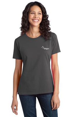 Women's Ringspun Short Sleeve Charcoal