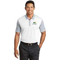 Nike Golf Dri-FIT Colorblock Polo White