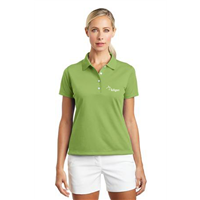 Ladies NIKE Polo Vivid Green