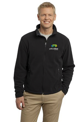 Port Authority Fleece Jacket Black