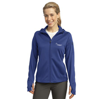 Ladies Tech Fleece Full Zip Royal