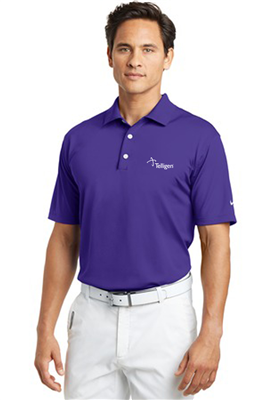 Short Sleeve NIKE Polo Varsity Purple