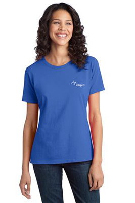 Women's Ringspun Short Sleeve Royal
