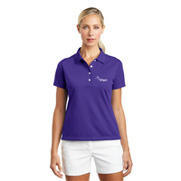 Ladies NIKE Polo Varsity Purple