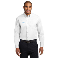 Long Sleeve Easy Care Shirt White