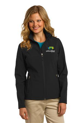 Port Authority Ladies Soft Shell Jacket Black