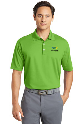 Nike Golf Dri FIT Micro Pique Polo Mean Green