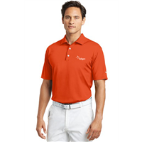 Short Sleeve NIKE Polo Orange Blaze