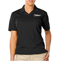 Womens Black Polo