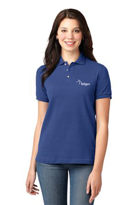 Ladies Short Sleeve Polo Royal
