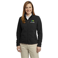 Port Authority Ladies Fleece Jacket Black