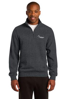 1/4 Zip Sweatshirt Graphite Heather
