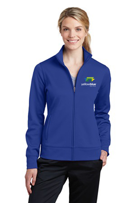 Sport-Tek Ladies Sport-Wick Fleece Full-Zip Royal