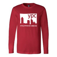 Long Sleeve - White on Red